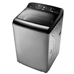 Máquina de Lavar Roupa Panasonic Inox 16 kg Cesto de Inox