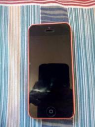 IPhone 5c só um trincado na tela