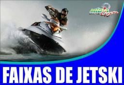 Faixas para jets ski