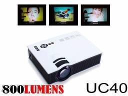 Projetor Led Uc40 130 Polegadas Usb 1080p