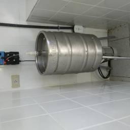 Máquinas para envase de água adicionada de sais