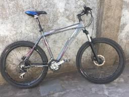 Bicicleta TSW quadro 27 ,freio a disco, toda shimano barata
