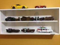 Coleção Batmóvel Jada Toys + caça fantasmas