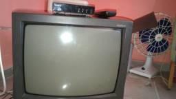 Tv de tubo com conversor