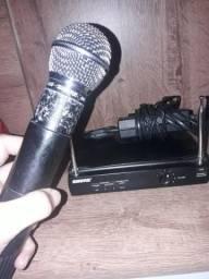 Microfone shure sem fio