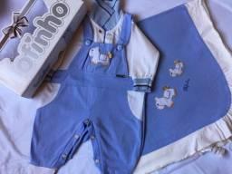 Kit de roupa pra bebê
