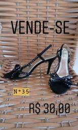 Sandália Vernon preta