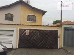 Sobrado com 3 dormitórios à venda, 142 m² por R$ 620.000,00 - Penha de França - São Paulo/