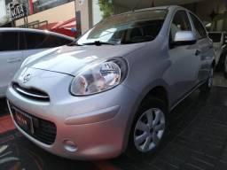 Nissan March 2012 1.0 S completo Imperdível financia 100% !!! - 2012