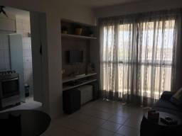 CA130: Alugo apartamento 1 quarto, mobiliado, varanda, oportunidade!
