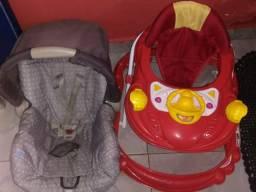Bebê conforto e andador