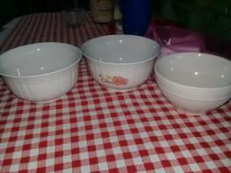 Tigelas de Porcelanas Novas