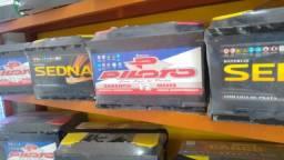 Baterias sedna 60 ah novas com 1 ano de garantia