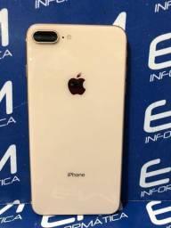 Apple iPhone 8 Plus 64GB Gold - Seminovo - Com Garantia - loja Niterói