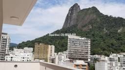 Cobertura linear em Botafogo, no You, Real Grandeza, 156m, 3 quartos, vista Cristo