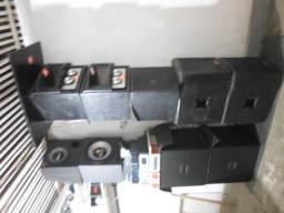 Vendo caixas de som profissional, twitters, amplificadores novos e em perfeito estado