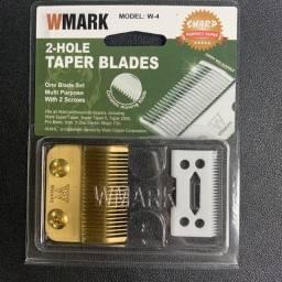 Kit de lâminas Taper aço e cerâmica