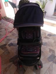 Conjunto de carrinho e bebê conforto Travel  System Nexus Preto Cosco