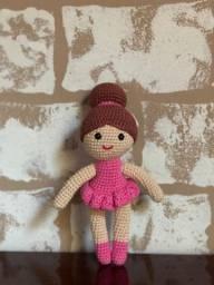 Boneca Bailarina - Amigurumi