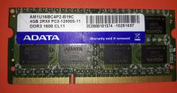 Memória DDR3, 1600  ( notebooks )