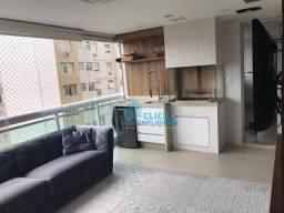 Apartamento com 3 dormitórios à venda, 150 m² por R$ 1.480.000,00 - Aparecida - Santos/SP