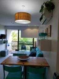 Apartamento à venda com 2 dormitórios em Muro alto, Ipojuca cod:V949