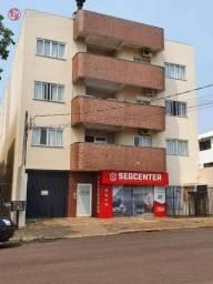 Apartamento Mobiliado para locação com 1 suíte e 1 quarto no Centro em Cascavel - PR