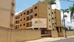 Apartamento com 1 dormitório para alugar, 38 m² por R$ 900/mês - Vila Tibério - Ribeirão P