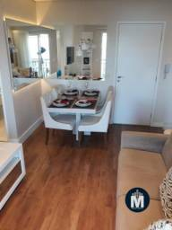 Apartamento decorado e mobiliado, 1 Dorm, 33m², Quest Campesina