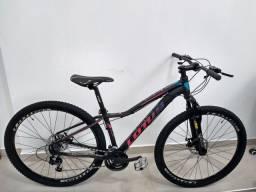 Bicicleta aro 29 Nova, quadro alumínio 15, 21v Megaranger.