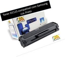 Toner D111S compatível com Samsung- Preto- NOVO