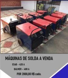 Solda máquina industrial R$2.000