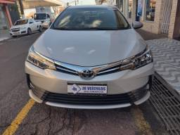 Corolla XEi 2018 Prata 30 mil km Zero (JR VEÍCULOS)
