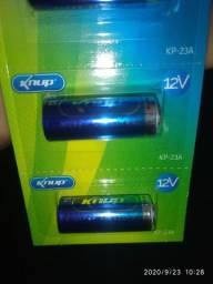 Bateria pilha 12v 23a controle de alarme