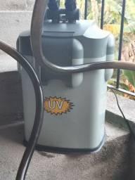 Filtro de aquario (canister) hopar 1800l/h R$ 600,00