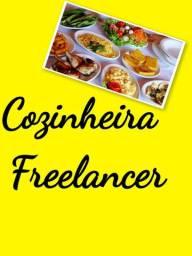 Cozinheira freelancer