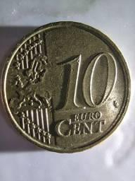 10 Euro Cents Comemorativa