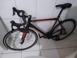 Bike Speed Caloi Strada 2020 PEDAL FSA com Grupo Tiagra 10v