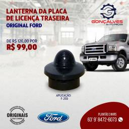 LANTERNA DA PLACA DE LICENÇA TRASEIRA ORIGINAL FORD