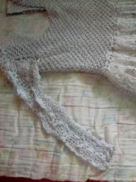 Vestido de crochê diferenciado para vender logo!