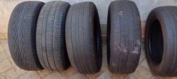 4 pneus aro 15 meia vida 195/65