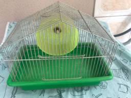 Gaiola para mini hamster