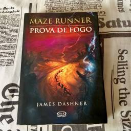 Livro Maze Runner: Prova de Fogo