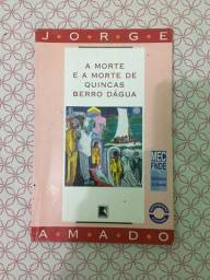 Título do anúncio: (Aceito cartão) Livro A morte e a morte de Quincas Berro D'agua de Jorge Amado