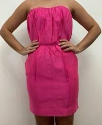 Vestido de festa rosa tamanho 38