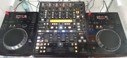 CDJ e mixer Behringer