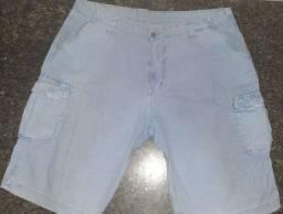 Bermuda jeans EG (56) azul.