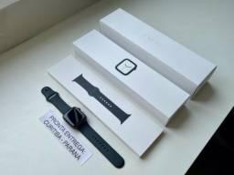 Apple Watch 4 44 Cinza Espacial. Completo. Troco