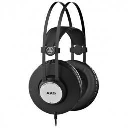 fone de ouvido profissional akg k72 preto