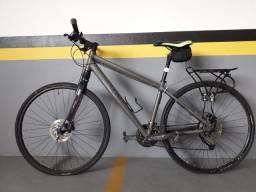 Bike híbrida - caloi city tour , aro 17,5
